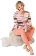 Oranje ROSALIE Pyjama met elastische boorden