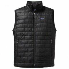 Zwarte Patagonia - Nano Puff Vest - Synthetische bodywarmer maat S zwart