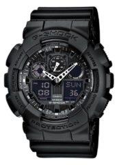 Zwarte Casio G-Shock GA-100-1A1ER - Horloge - Kunststof - Zwart - Ø 50 of 52 mm