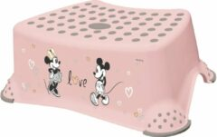 Roze Keeeper WC Opstapje Minnie Mouse pastel rose