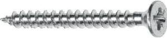 Heco 58040341 Fix-plus Spaanplaatschroef - Staal - Verzinkt - Verzonken - Voldraad - Pozidriv - PZ2 - 4 x 35mm (200st)