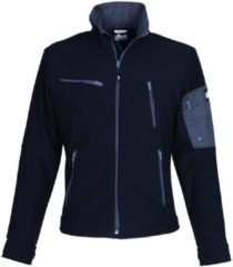 Grijze HaVeP Titan Softshell 40054 zwart/charcoal grey M