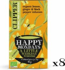 Clipper Happy Mondays Organic Herb Tea - 8 x 20 zakjes