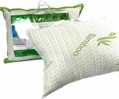 Groene Suite sheets Bamboe Hoofdkussen Syndon Fill
