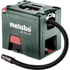 Metabo AS 18 L PC 602021850 Droogzuiger Set 7.50 l Stofklasse L gecertificeerd