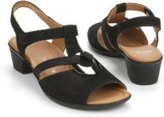 Zwarte Ara Sandalen/Sandaaltjes