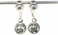 MNQ bijoux - Clipoorbellen - Oorclips - Kind - Meisjes - Zeemeermin - Zilver - Hangoorbellen
