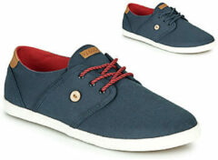 Blauwe Sneakers Tennis Cypress Cotton by Faguo
