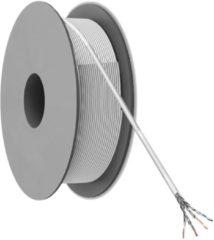 Goobay 95709 Netwerkkabel CAT 6 S/FTP 4 x 2 x 0.12 mm² Grijs 305 m