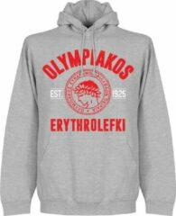 Merkloos / Sans marque Olympiakos Established Hooded Sweater - Grijs - XXL
