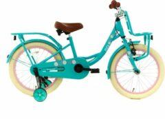 Nogan Puck Kinderfiets - Meisjes - 18 inch - Turquoise