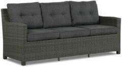 Domani Furniture Domani Luga lounge tuinbank 3-zits + 2 x bijzettafel met kussen