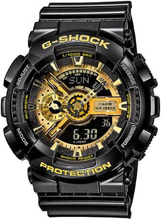 Afbeelding van Casio GA-110GB-1AER Bracelet watch Man Kwarts (batterij) Zwart horloge