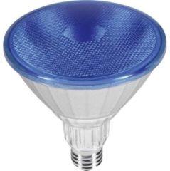 Segula 50762 LED (monochrome) EEC D (A++ - E) E27 Reflector 18 W = 120 W Blue (Ø x L) 80 mm x 120 mm 1 pc(s)