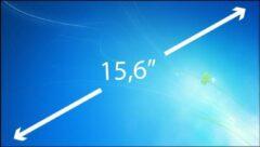A-merk 15.6 inch Laptop Scherm EDP Slim 1366x768 Glossy B156XTN03.5