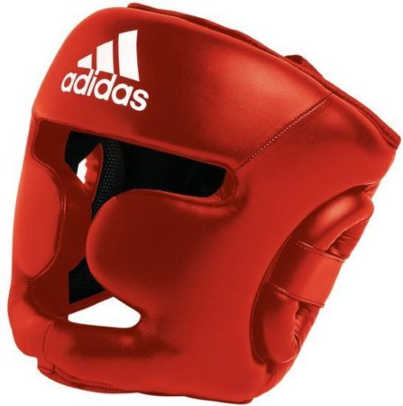 Afbeelding van Rode Adidas hoofdbeschermer Response rood maat L