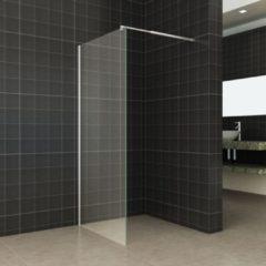 Douche Concurrent Inloopdouche Eco 100x195cm Helder Glas Chroom Profiel 6mm Veiligheidsglas Easy Clean