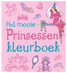 Het mooie prinsessen kleurboek - Boek Deltas Centrale uitgeverij (9044743570)