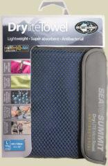 Sea to Summit Drylite Towel Mikrofaser Handtuch Größe L cobalt blue
