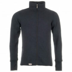 Woolpower - Full Zip Jacket 600 - Wollen jack maat XL, zwart