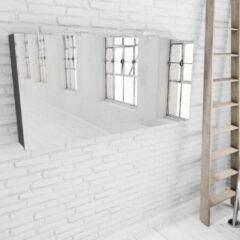 Zaro Beam antraciet spiegelkast 150x70x16cm 3 deuren