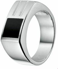 Huiscollectie Zilveren Ring onyx 20.00 mm (63)