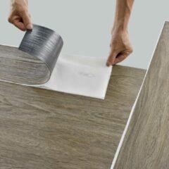 Neu.holz PVC laminaat zelfklevend set van 42 Canadian oak 5,85 m²