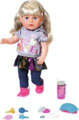 Pop Soft Touch Sister Baby Born 43 cm blond Babypop Zapf Creations Baby Born