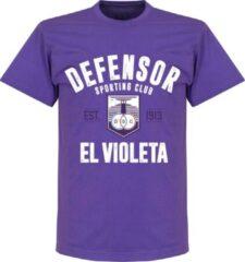 Retake Defensor Sporting Established T-shirt - Paars - XXL