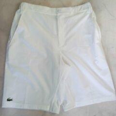 Witte Korte broek van Lacoste Sport maat 3
