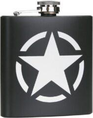 Fostex Zakfles/heupflacon groen 180ml - US Army Star