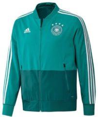 Präsentationsjacke DFB 2018 CE6588 mit schmalem Kragen adidas performance eqt green/white/real teal