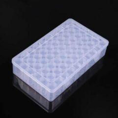 """Transparante Sorteerdoos """"Multiplaza""""met 60 potjes - diamond painting - opberg - sorteren - orginazer"""