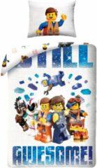 Character World dekbedovertrek The Lego Movie 2 140 x 200 cm wit