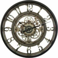 Modernklokken.nl Wandklok Loft-Stijl, Ø 51 cm, Grijs