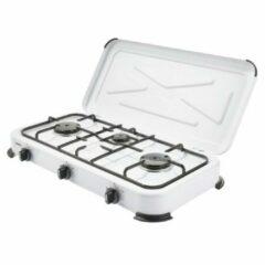Grijze Gimeg Kooktoestel - 3-pits - Wit