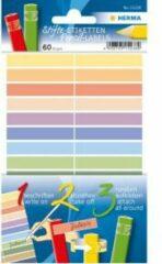 HERMA 15238 Rechthoek Permanent Multi kleuren 60stuk(s) etiket
