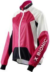 X-Bionic Biking Spherewind Jacket - Radjacken für Damen - Rot