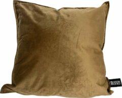 Kussenhoes Bali Brown | 45x45 cm | Polyester | Velvet | Bruin | Maison Boho