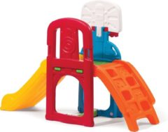 Step2 Speeltoestel Game Time Sports Climber - Glijbaan - Basketbal - voetbal - Incl. bal