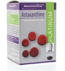 Astaxanthine platinum van Mannavital : 60 capsules