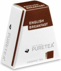 PureTea Pure Tea English Breakfast Biologische Thee - 2 x 18 stuks
