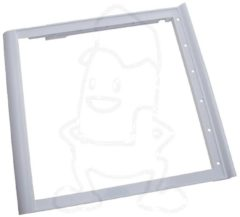 Bauknecht, Smeg, Whirlpool Halter (für Glasplatte 430x405mm) für Kühlschrank 481050210912