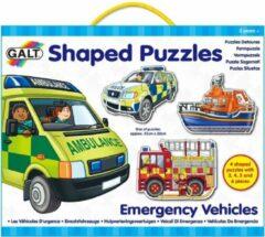 Galt - Puzzels - Hulpvoertuigen - 3/4x5x6st.