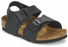 Zwarte Birkenstock New York Narrow - Sandalen - Kinderen - Zwart - Maat 33
