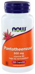 Now Foods Now Now Pantotheenzuur 500 Mg (B5) Trio (3x 100cap)