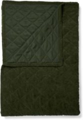 Donkergroene ESSENZA Billie - Sprei - Groen - 150x200 cm