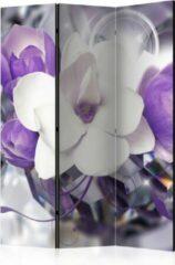 Paarse Kamerscherm - Scheidingswand - Vouwscherm - Purple Empress [Room Dividers] 135x172 - Artgeist Vouwscherm