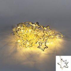 Kaemingk Weihnachtsbeleuchtung Lichterkette Star 20 warmweiß LED 3,8 Meter