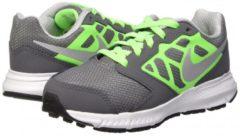 Nike Downshifter 6 (Gs/Ps) Scarpe Sportive, Ragazzo, Grigio / Verde / Bianco 37 1/2